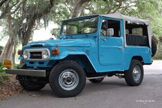 Our 1978 Land Cruiser FJ43, 'Marina'
