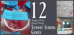 You need exciting, kid-friendly games that you can pull together quickly. Here are 12 super-fun, easy-prep Sunday school games your students will love.