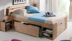 Lit JANIS bed with lots of storage- just what I need