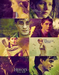 Divergent, Percy Jackson, Hunger Games AND Harry Potter. All my favourite books.