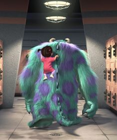 Favorite Pixar movie- Monsters Inc Disney And More, Disney Love, Disney Magic, Disney Art, Walt Disney, Monsters Inc Boo, Disney Monsters, Monsters Inc Movie, Disney Pixar Movies