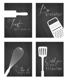 Kitchen Puns- - - These will be great tags for Goody baskets....