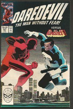 DAREDEVIL #257 VF/NM or better 1st Print High Grade  Marvel Comics 1988