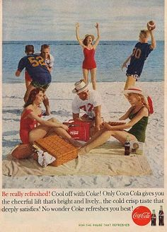 1961 - Coca-Cola advertising