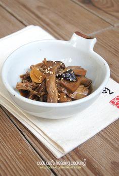 버섯으로 장아찌를 만든다?!! 쫄깃쫄깃 식감좋은 새송이 장아찌 – 레시피 | 다음 요리
