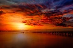 Sunset at Ballast Point Pier by Like_He on 500px