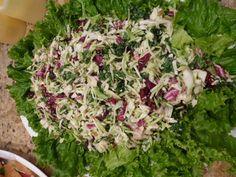 Broccoli Kale, Cranberry Salad