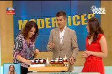 No minuto 12, a Beesweet apresenta o seu mel nas Grandes tardes da SIC, com João Baião e Andreia Rodrigues