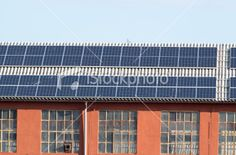 House with Photovoltaics Panels on the Roof Image Now, Solar, Industrial, Plant, Stock Photos, Outdoor Decor, House, Home Decor, Decoration Home