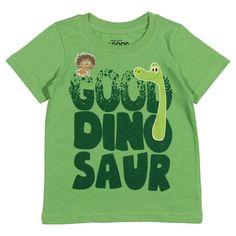 Disney Toddler Boys' The Good Dinosaur T-Shirt - Green 3T