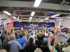 Cheers Erupt for Trump's 'Drain the Swamp' Plan at Pence Rally in North Carolina (10/18/16)