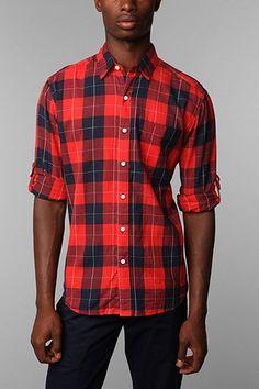 Hawkings McGill Box Plaid Dress Shirt