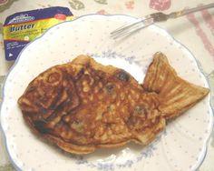 Fish Shaped Pancake (Taiyaki) Fish Shaped Pancake (Taiyaki) Japanese version of the waffle for International Waffle Day. International Waffle Day, Grilled Swordfish, Japanese Treats, Waffle Iron Recipes, Japanese Pancake, Savory Waffles, Fish Shapes, Pancakes, Cooking Recipes