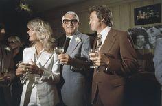 Farrah Fawcett, Cary Grant e Lee Majors nel 1977 (AP Photo/Hodge)