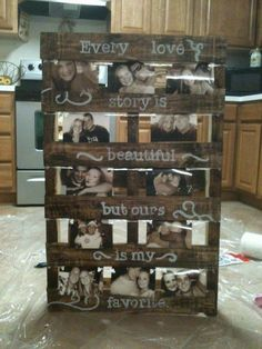 rustic wood pallet wedding decor
