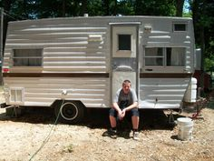 """Lil' Red Cadet - Follow my blog as I renovate my 1973 Coachman Cadet travel trailer into a vintage camper!  I'll be """"glamping"""" in no time!"""