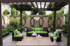 Esta idea me encanta para mi patio trasero #gardenvinesbackyards