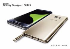 Samsung launches Galaxy Note 5 and Galaxy S6 edge+