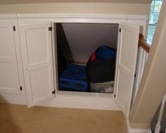 Knee Wall Storage Design, Pictures, Remodel, Decor and Ideas - page 2