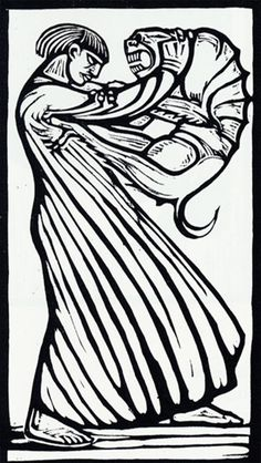 Gustav Vigeland, woodcut I like the clean lines, this would be a good basis for a linocut to try Illustrations, Illustration Art, Linocut Prints, Art Prints, Art Antique, Scratchboard, Art For Art Sake, Wood Engraving, Monster