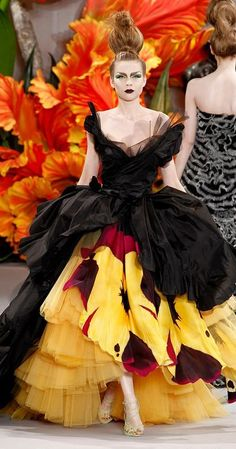 * John Galliano pour Christian Dior - Haute Couture Fall 2010