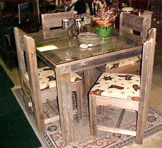 rustic texas star decor | Texas True: Western Furniture & Decor, Rustic Log Furniture, Cowboy ...