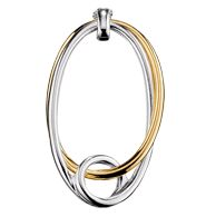 "Marta Eternity Pendant - Two-tone silvertone and goldtone. 24"" L chain with 3"" extender. Regularly $14.99, buy Avon Jewelry online at http://eseagren.avonrepresentative.com/"