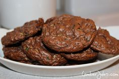 IP Chocolate Zucchini Cookies Plated  *Coach Approved.