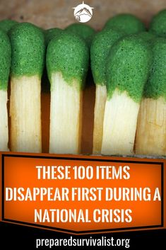 When disaster strikes you have to be prepared. This is why we are always on the lookout for survival essentials that we can store in case SHTF. But what items do we need to store exactly? these 100 items are vital to any survival kit, bug out bag or emerg Survival Essentials, Survival Items, Survival Supplies, Emergency Supplies, Survival Food, Survival Prepping, Survival Skills, Survival Hacks, Emergency Kits