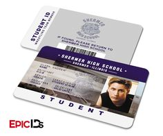 """The Breakfast Club Inspired """"Andrew Clark"""" Student ID"""