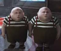 Humpty and Dumpty / Alice in wonderland