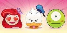 Los amoooooo! Lista para la descarga! #app >Disney lanza emojis de tus personajes favoritos