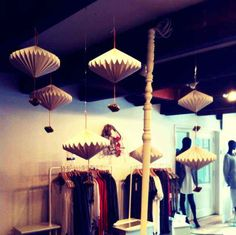 Instore decoration Brandstore Ready to fish_ Amsterdam.