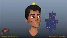 Advanced Facial Rig in Maya 2018 (Teaser 1)