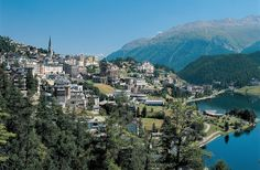 St. Moritz, Switzerland - Winter Paradise Destination
