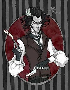 Sweeney Todd by IrenHorrors