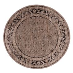 Liberty Jas Machine Made L. Round Rug