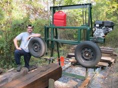 Homemade Bandsaw Mill - by bryguy22 @ LumberJocks.com ~ woodworking community
