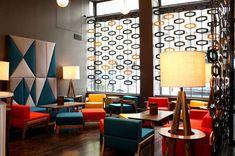 Contemporary Restaurant Lounge