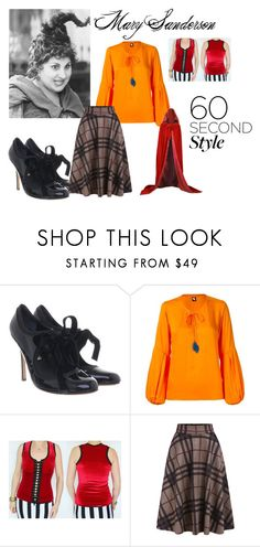 """""""Mary Sanderson"""" by jessieholloway13 on Polyvore featuring Rupert Sanderson and Skinbiquini"""