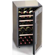 CLIMADIFF Weinkühlschrank CLS63 für 63 Flaschen | calitron.ch Thermometer, Shoe Rack, Led, Wine, Cabinet, Storage, Furniture, Home Decor, Products