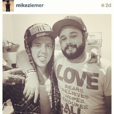 The always supportive @mikeziemer! ❤ #livetolove