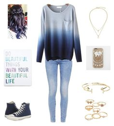 """""""Untitled #180"""" by amberleeloves5sos ❤ liked on Polyvore featuring G-Star, Kate Spade, Aéropostale, Mudd, Converse and Forever 21"""