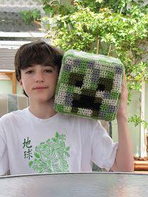 ToyDesigningVashti: Update: Minecraft Creeper Crochet