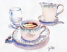 High Tea Paris-Ritz   By Paris Breakfast   (Carol Gillott )