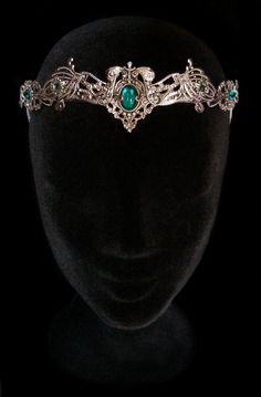 Elven Medieval Crown Headdress Tiara Circlet by AMonSeulDesir
