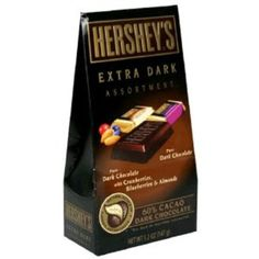 I'm learning all about Hershey's Extra Dark Assortment at @Influenster!