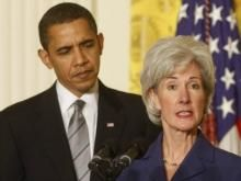 "Sebelius to Class of 2013: Good News, Obamacare Offers You Free Birth Control and Sterilization // All about the so-called ""free"" stuff to keep Slaves dependent on the Plantation owners... Slaves can't do anything on their own."