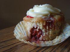Cheery Cherry Pie Cupcakes