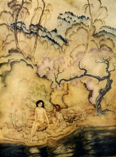 Arthur Rackham, one of my favorite illustrators